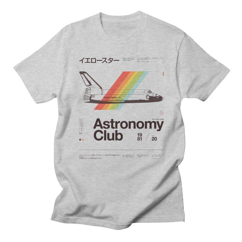 Astronomy Club Men's Regular T-Shirt by Speakerine / Florent Bodart