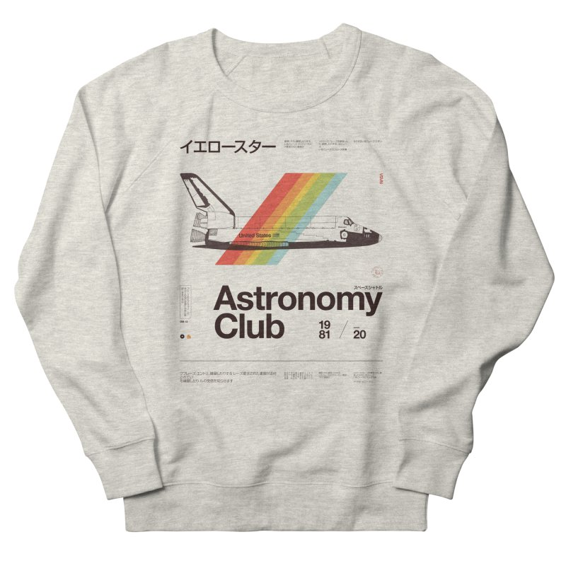 Astronomy Club Women's Sweatshirt by Speakerine / Florent Bodart