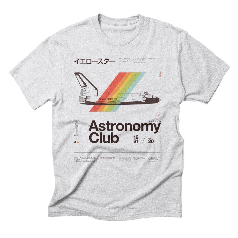 Astronomy Club Men's Triblend T-Shirt by Speakerine / Florent Bodart