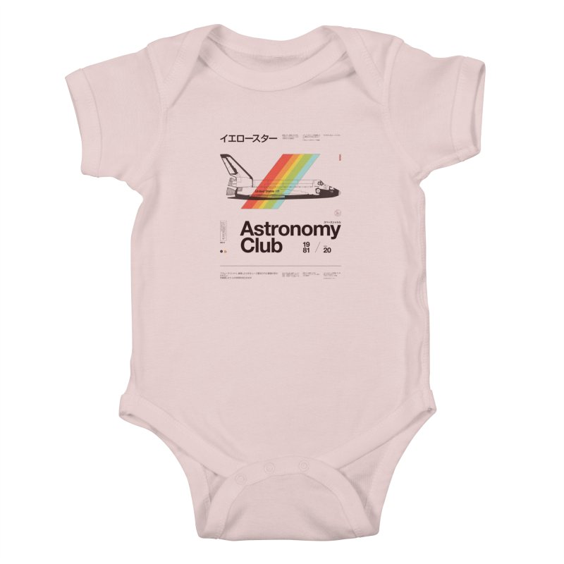 Astronomy Club Kids Baby Bodysuit by Speakerine / Florent Bodart