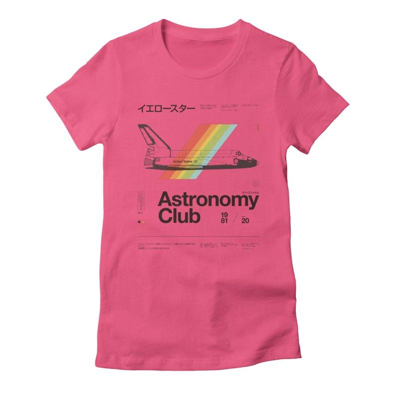 Astronomy Club Women's T-Shirt by Speakerine / Florent Bodart