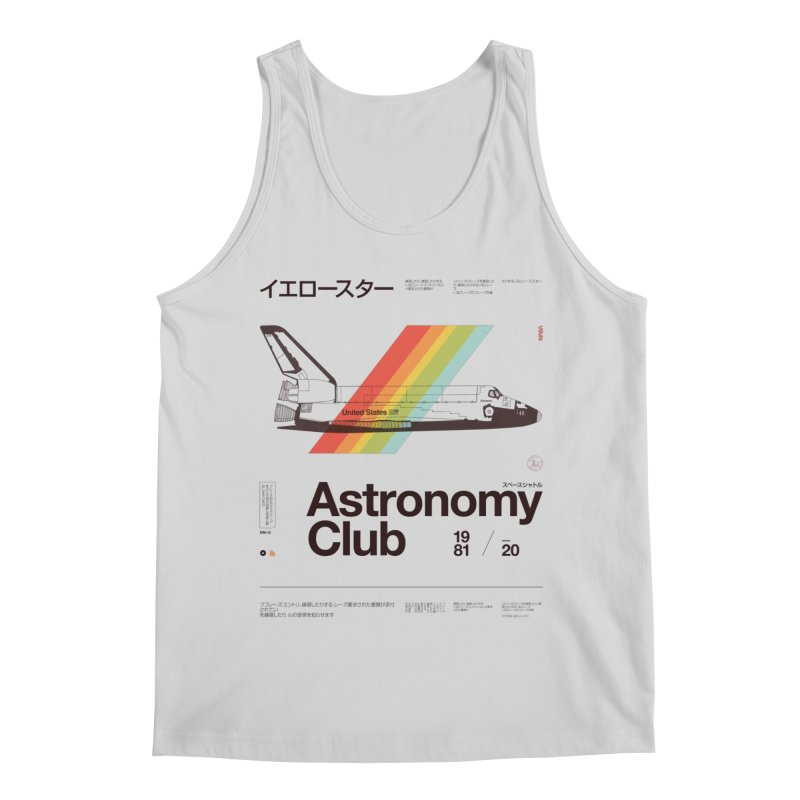 Astronomy Club Men's Regular Tank by Speakerine / Florent Bodart