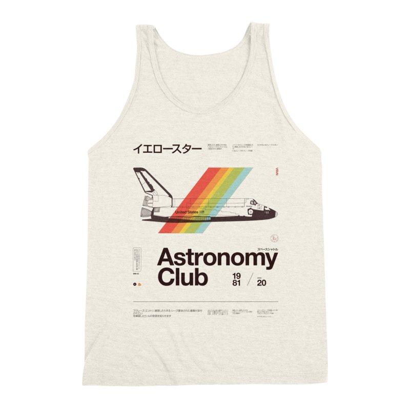 Astronomy Club Men's Triblend Tank by Speakerine / Florent Bodart