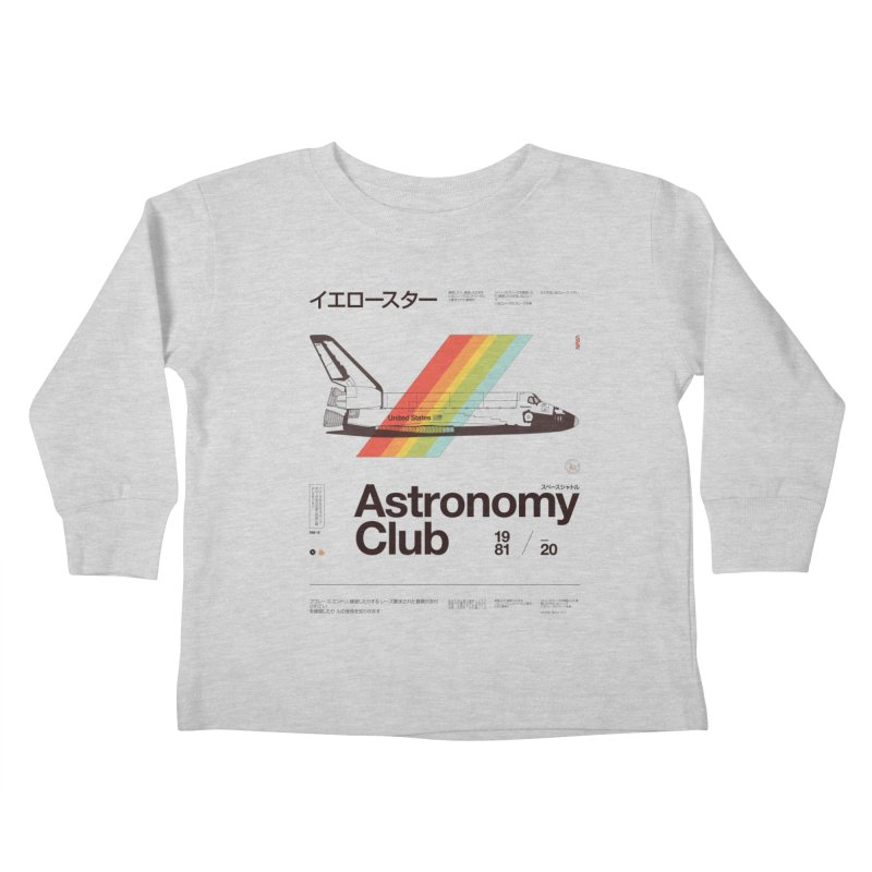 Astronomy Club Kids Toddler Longsleeve T-Shirt by Speakerine / Florent Bodart