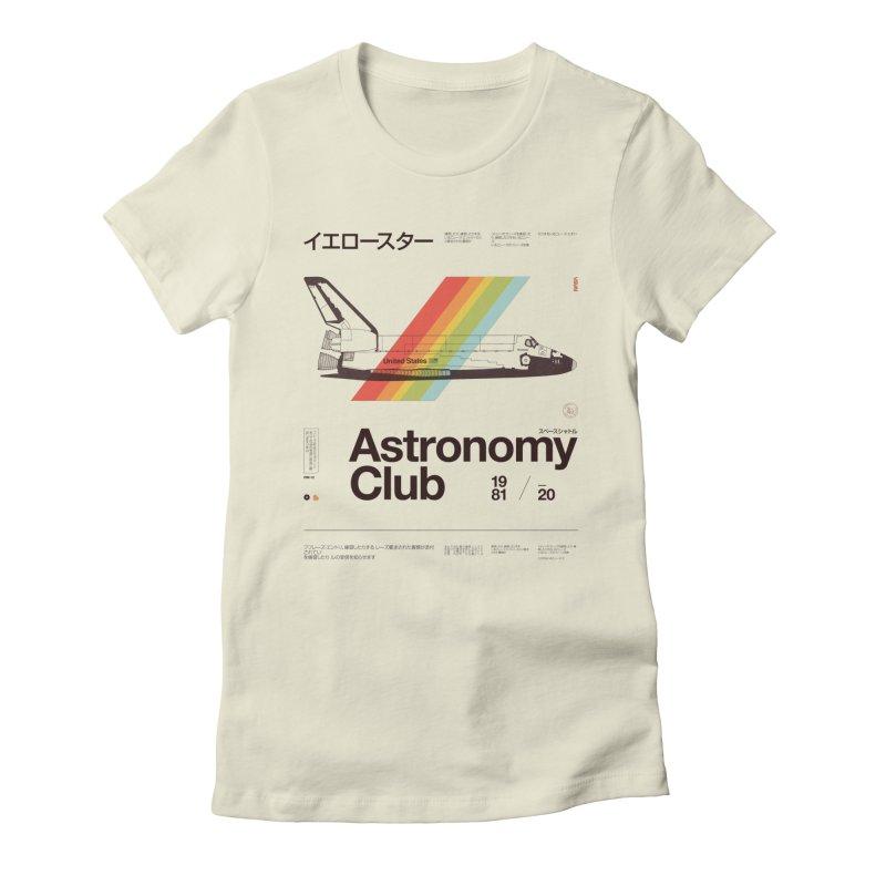 Astronomy Club Women's Fitted T-Shirt by Speakerine / Florent Bodart