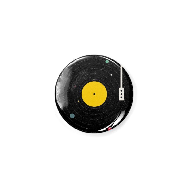 Music, Everywhere Accessories Button by Speakerine / Florent Bodart