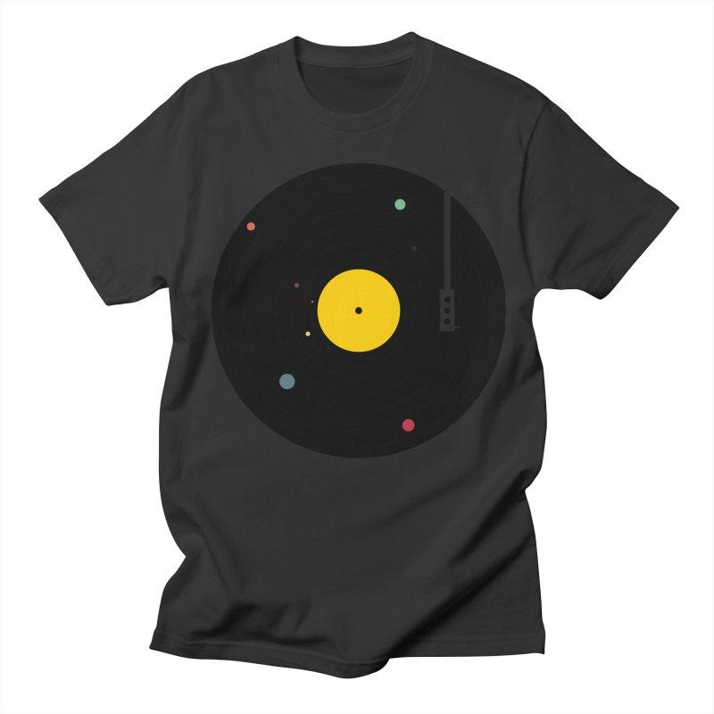 Music, Everywhere Men's T-Shirt by Speakerine / Florent Bodart