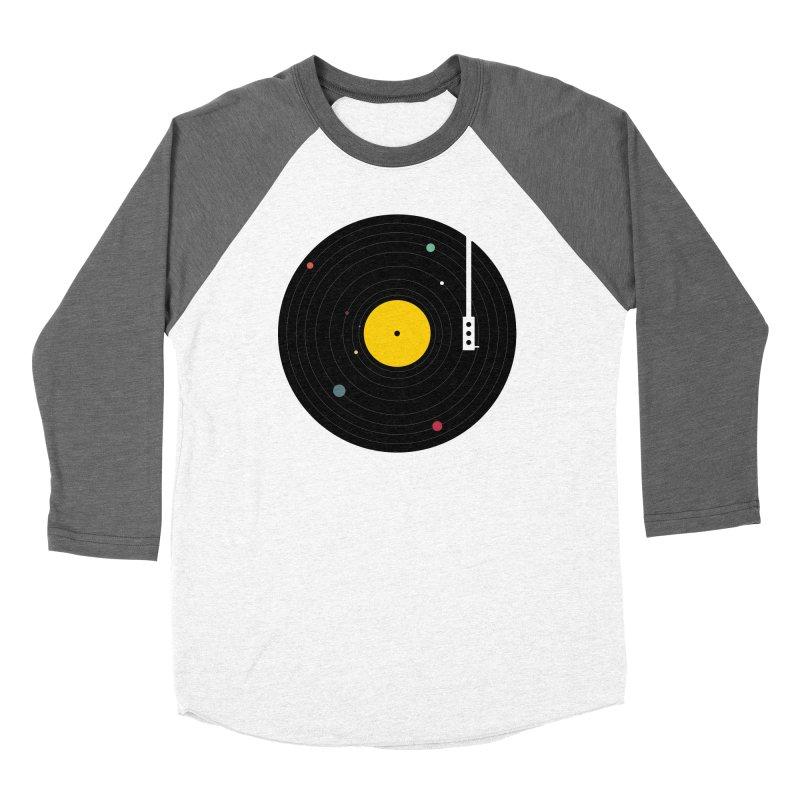 Music, Everywhere Men's Baseball Triblend Longsleeve T-Shirt by Speakerine / Florent Bodart