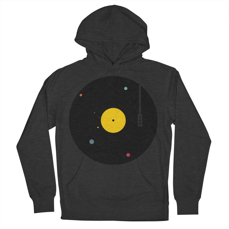 Music, Everywhere Women's French Terry Pullover Hoody by Speakerine / Florent Bodart