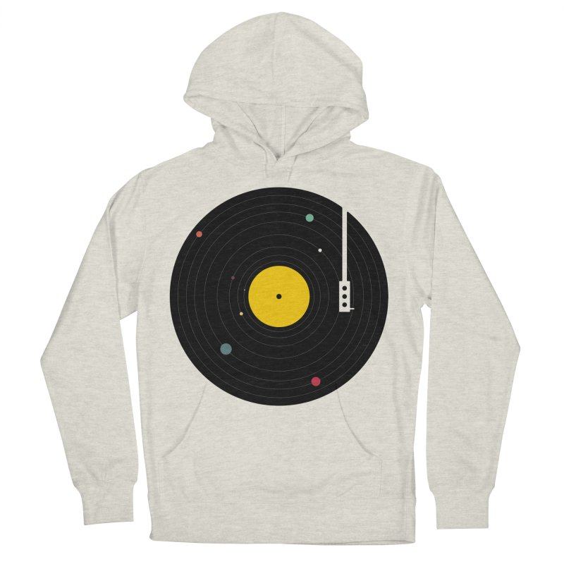 Music, Everywhere Men's French Terry Pullover Hoody by Speakerine / Florent Bodart