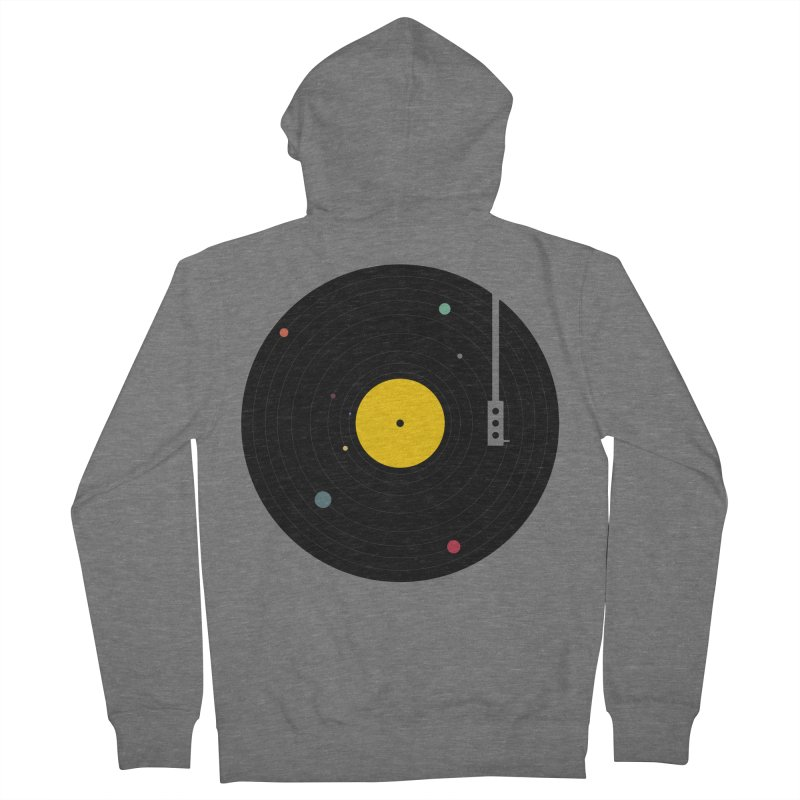 Music, Everywhere Women's Zip-Up Hoody by Speakerine / Florent Bodart