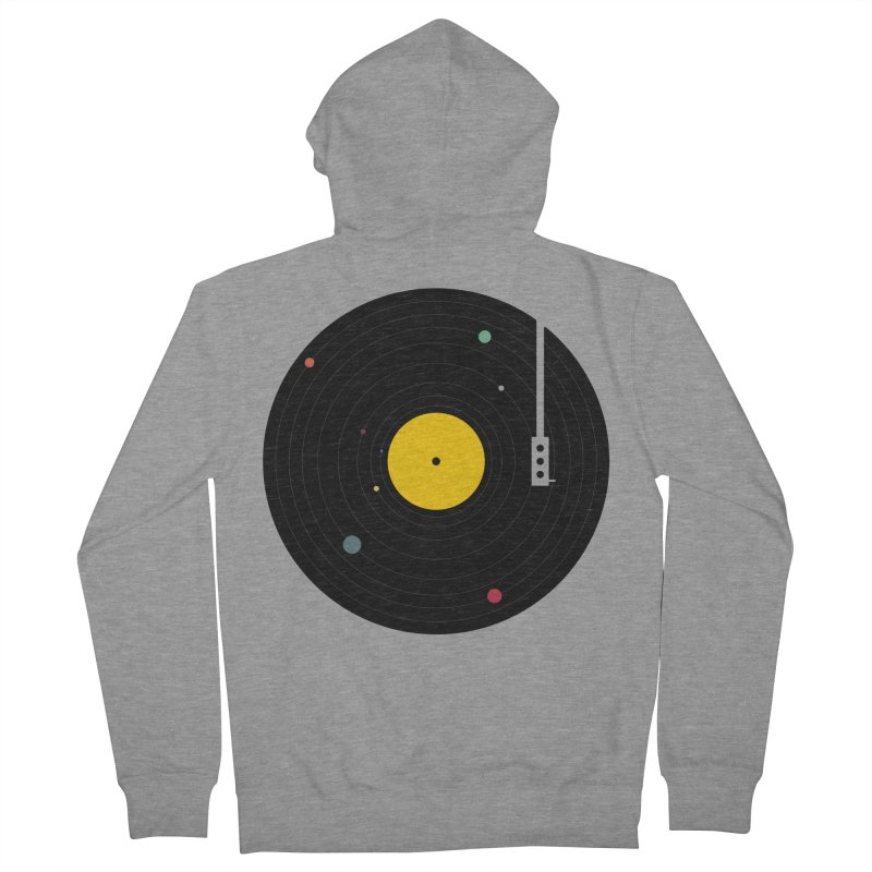 Music, Everywhere Men's Zip-Up Hoody by Speakerine / Florent Bodart