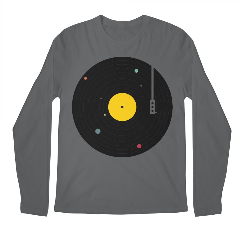 Music, Everywhere Men's Longsleeve T-Shirt by Speakerine / Florent Bodart