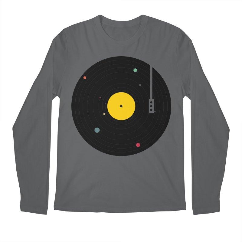 Music, Everywhere Men's Regular Longsleeve T-Shirt by Speakerine / Florent Bodart