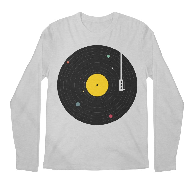 Music, Everywhere Men's Regular Longsleeve T-Shirt by Speakerine / Florent Bodart