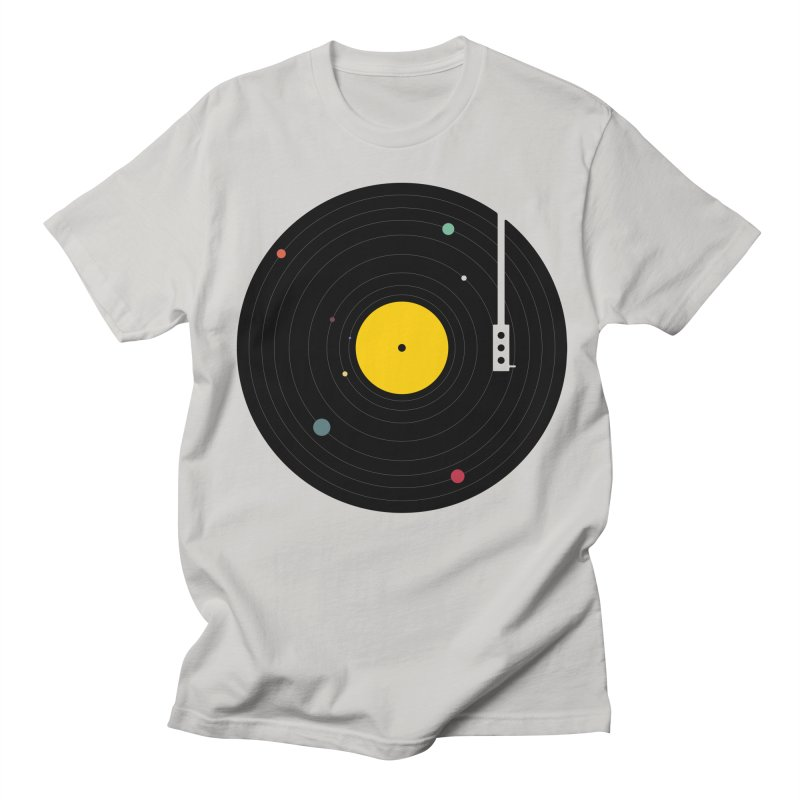 Music, Everywhere Men's T-Shirt by Speakerine / Florent Bodart