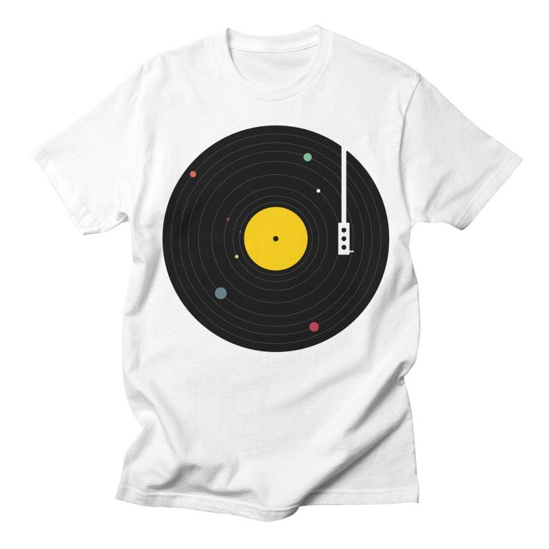 Music, Everywhere Men's Regular T-Shirt by Speakerine / Florent Bodart