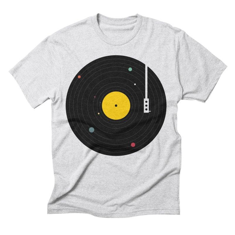 Music, Everywhere Men's Triblend T-Shirt by Speakerine / Florent Bodart