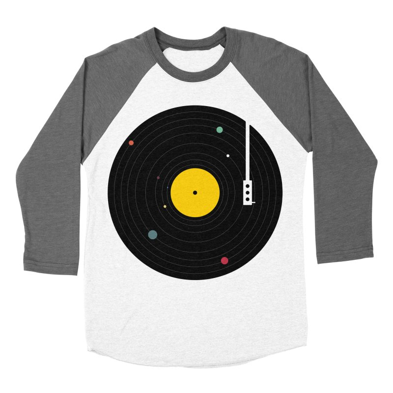 Music, Everywhere Men's Baseball Triblend Longsleeve T-Shirt by Speakerine / Florent Bodart