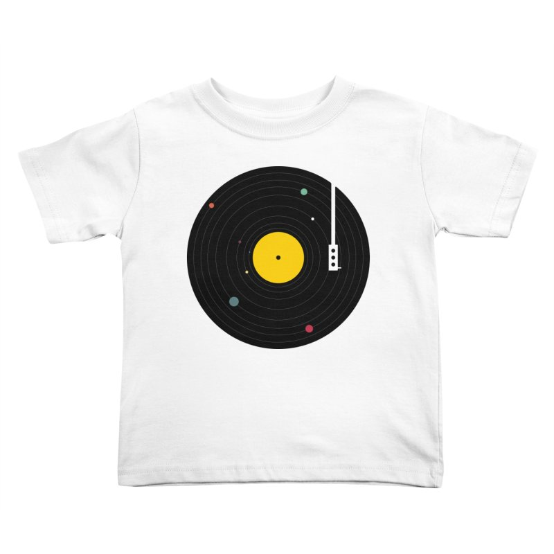 Music, Everywhere Kids Toddler T-Shirt by Speakerine / Florent Bodart