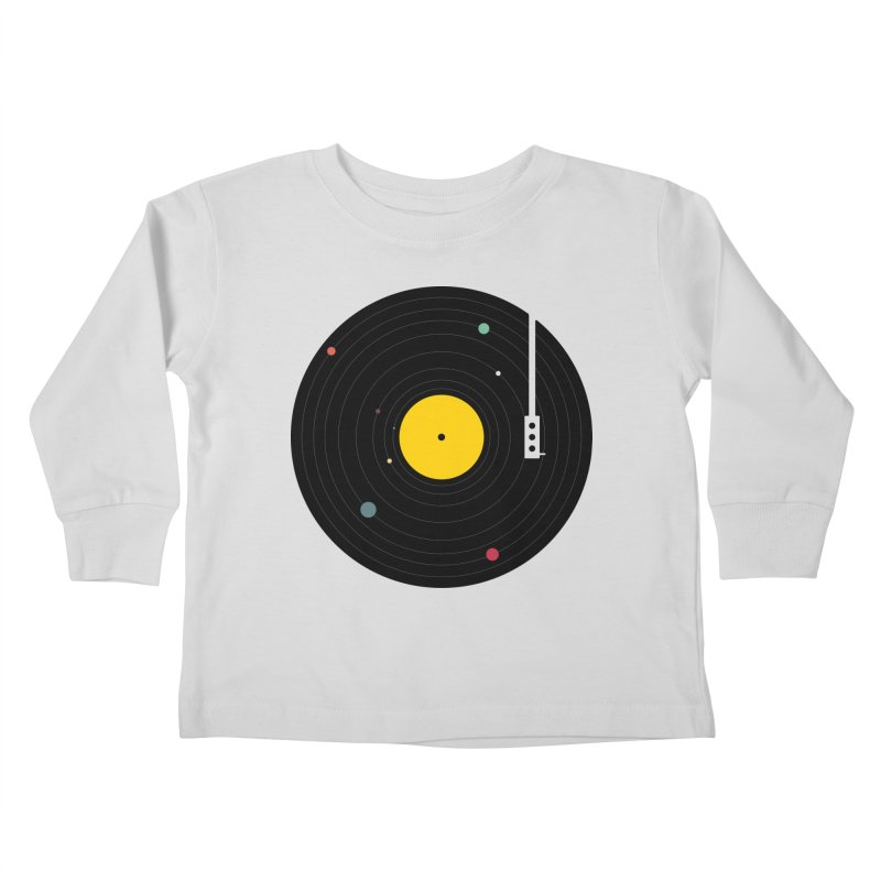 Music, Everywhere Kids Toddler Longsleeve T-Shirt by Speakerine / Florent Bodart