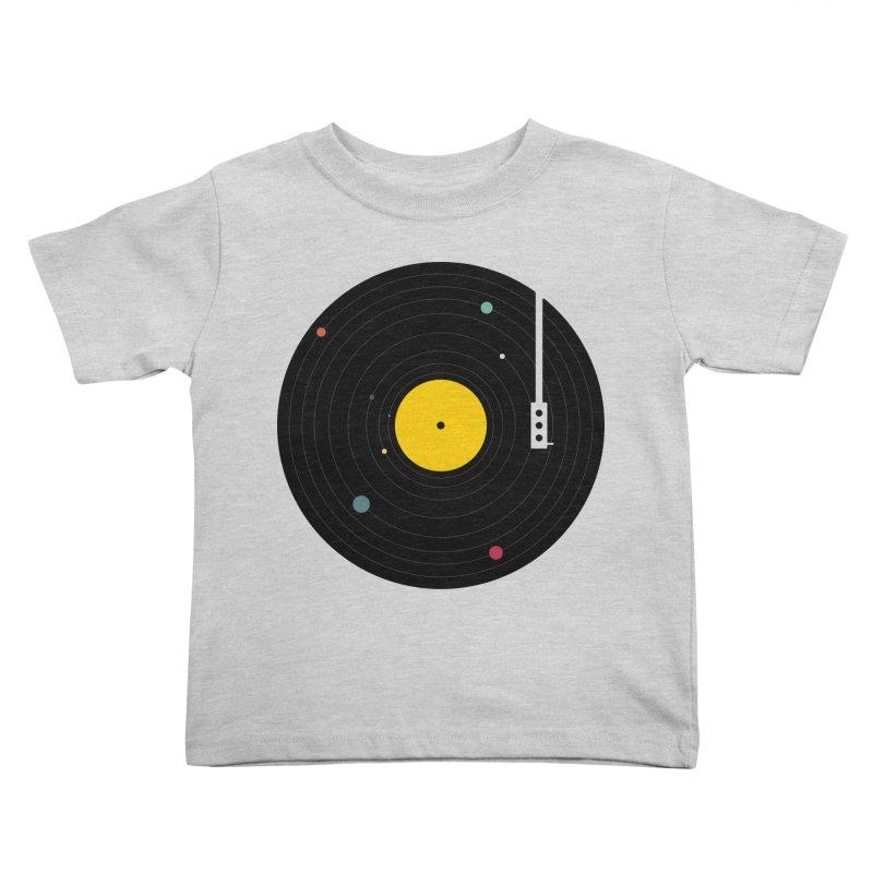 Music, Everywhere Kids Toddler T-Shirt by Speakerine / Florent Bodart