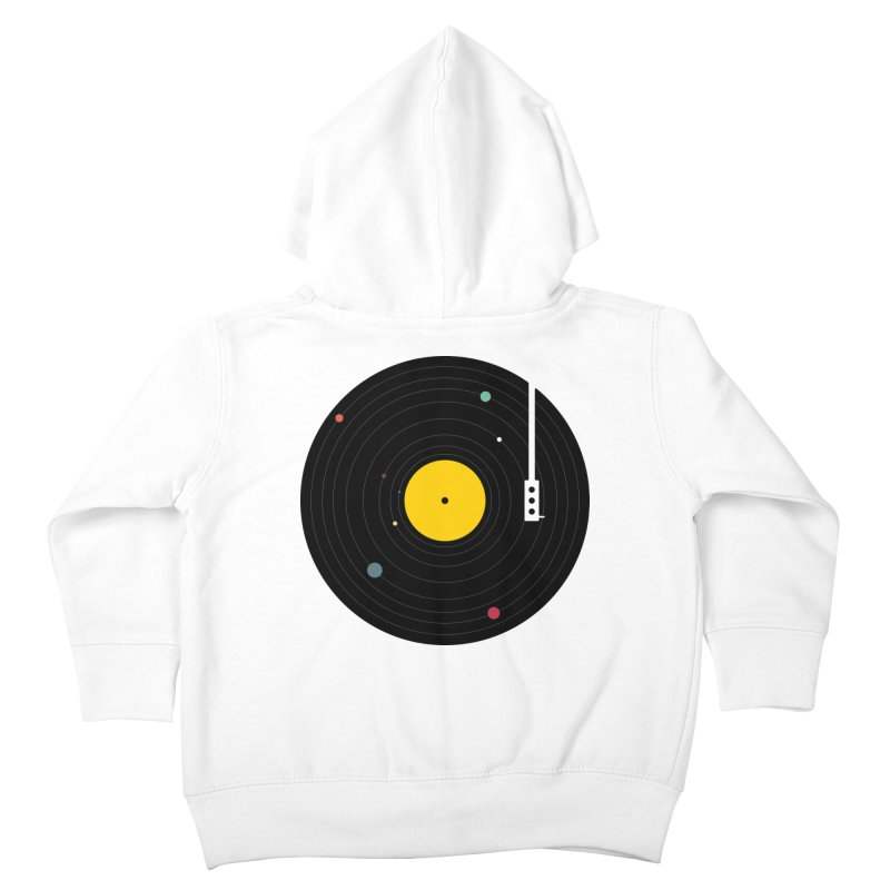 Music, Everywhere Kids Toddler Zip-Up Hoody by Speakerine / Florent Bodart