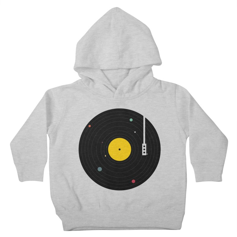 Music, Everywhere Kids Toddler Pullover Hoody by Speakerine / Florent Bodart