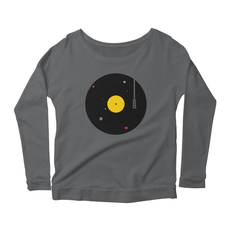 Music, Everywhere Women's Longsleeve T-Shirt by Speakerine / Florent Bodart
