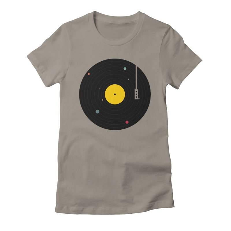 Music, Everywhere Women's T-Shirt by Speakerine / Florent Bodart
