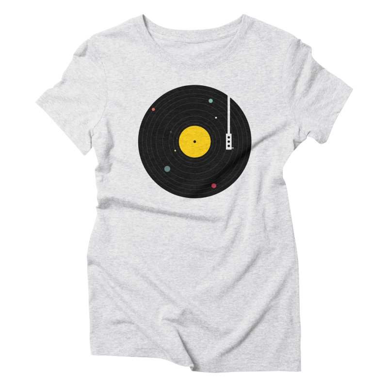 Music, Everywhere Women's Triblend T-Shirt by Speakerine / Florent Bodart