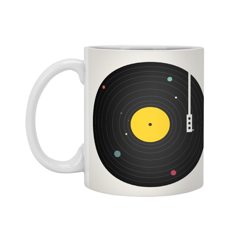 Music, Everywhere Accessories Mug by Speakerine / Florent Bodart