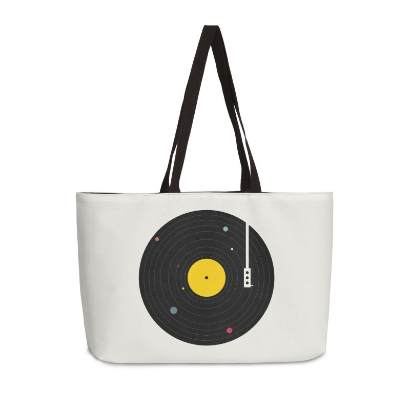 Music, Everywhere Accessories Weekender Bag Bag by Speakerine / Florent Bodart