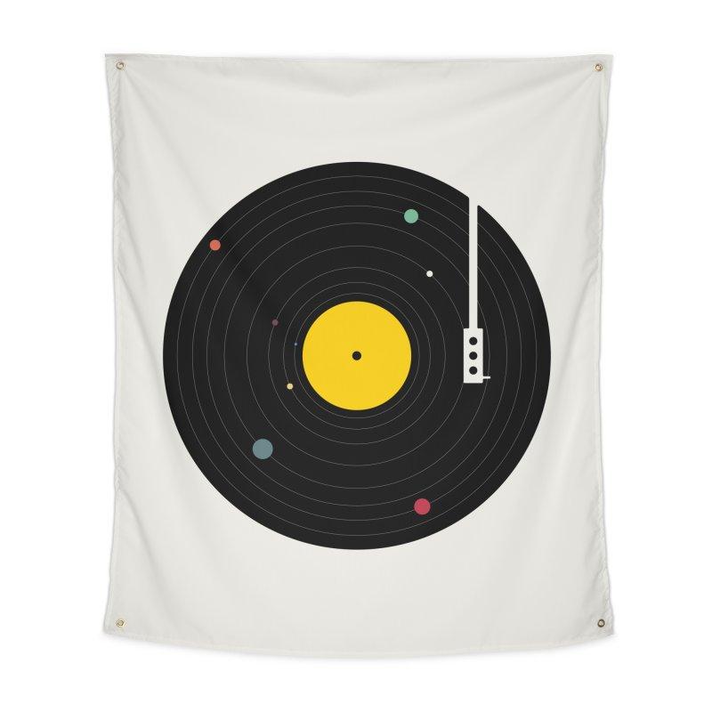 Music, Everywhere Home Tapestry by Speakerine / Florent Bodart