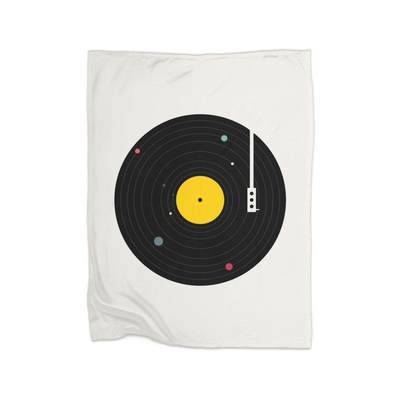 Music, Everywhere Home Blanket by Speakerine / Florent Bodart