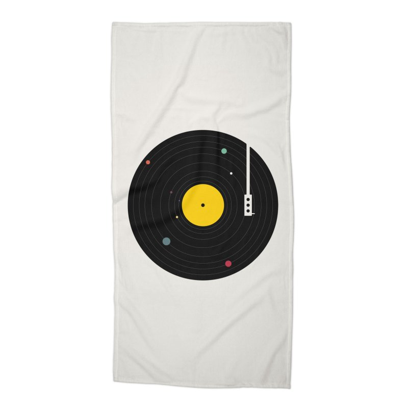 Music, Everywhere Accessories Beach Towel by Speakerine / Florent Bodart