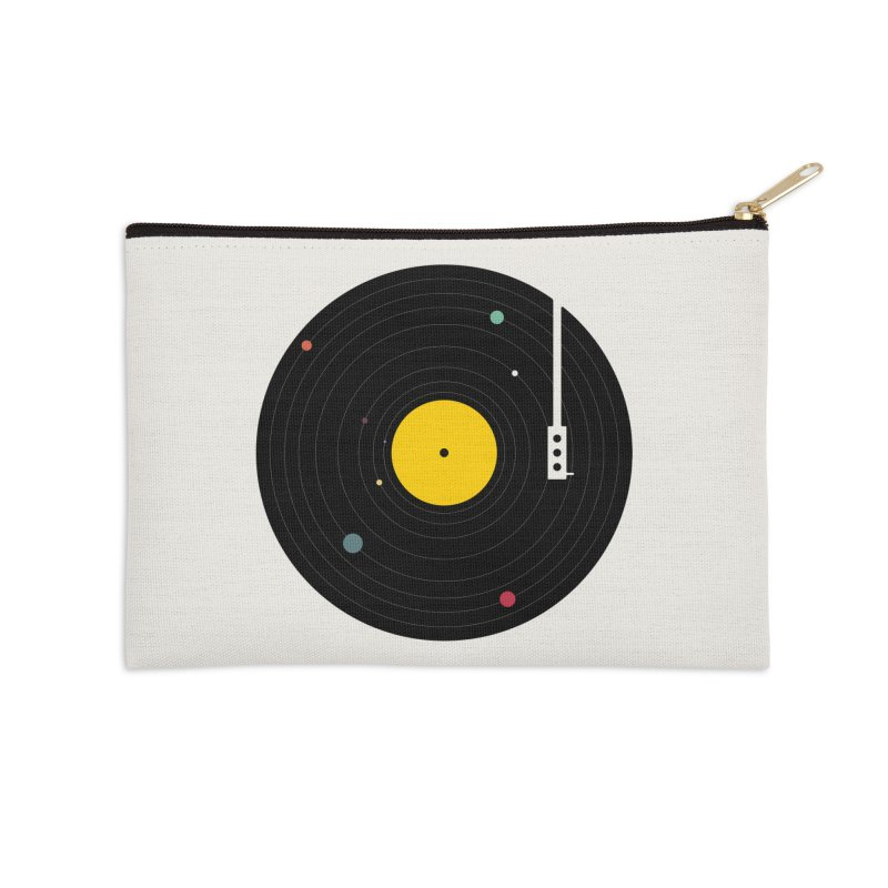 Music, Everywhere Accessories Zip Pouch by Speakerine / Florent Bodart