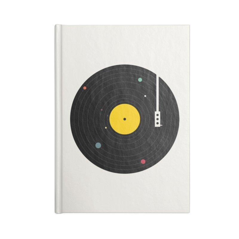 Music, Everywhere Accessories Notebook by Speakerine / Florent Bodart