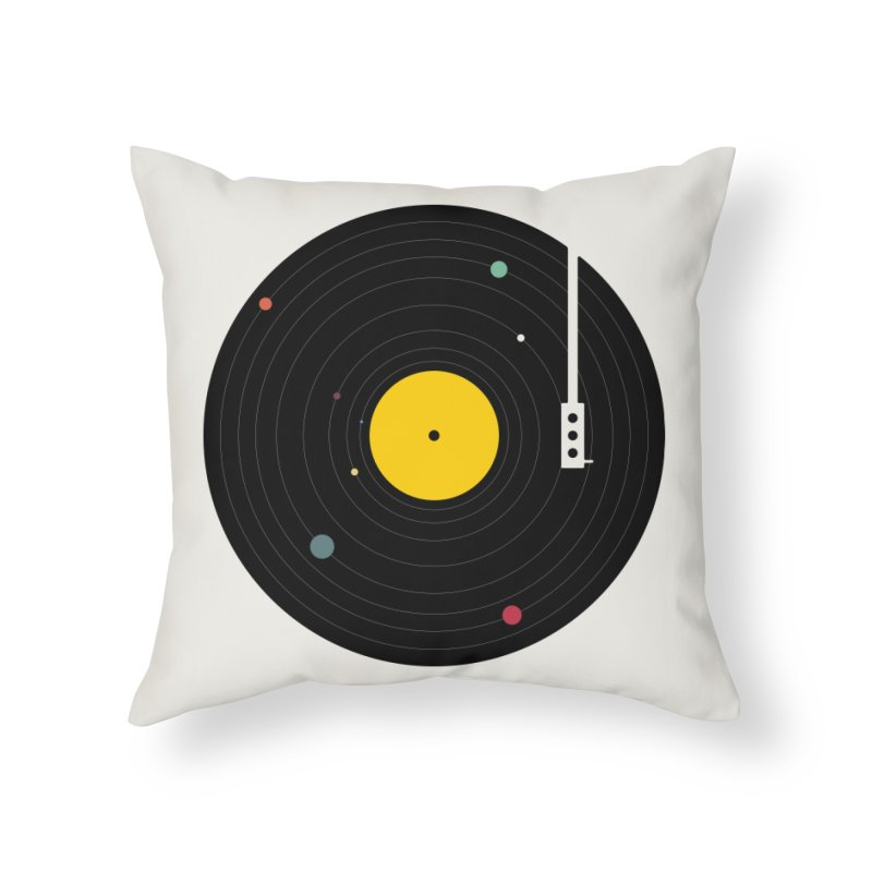 Music, Everywhere Home Throw Pillow by Speakerine / Florent Bodart