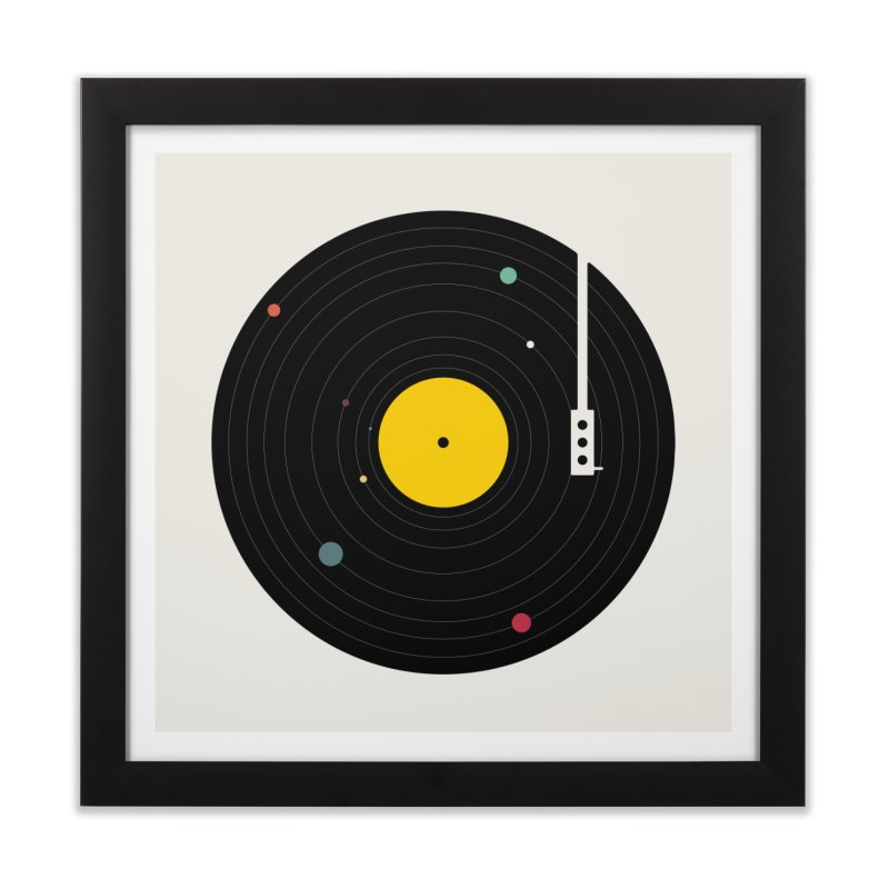 Music, Everywhere Home Framed Fine Art Print by Speakerine / Florent Bodart