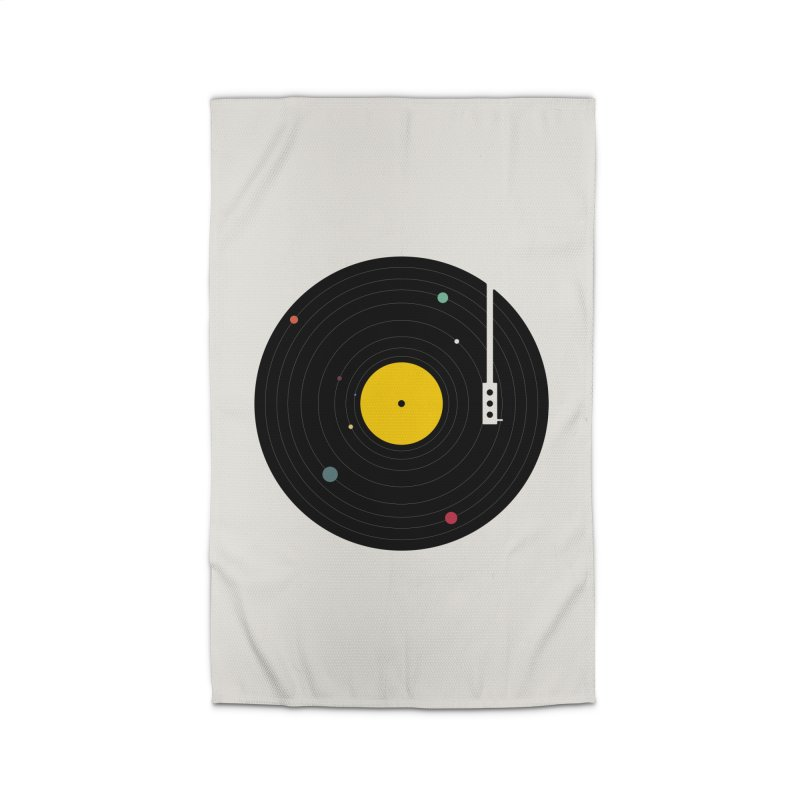 Music, Everywhere Home Rug by Speakerine / Florent Bodart