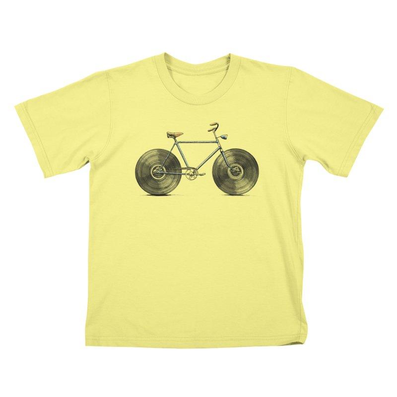 Velophone Kids T-shirt by Speakerine / Florent Bodart
