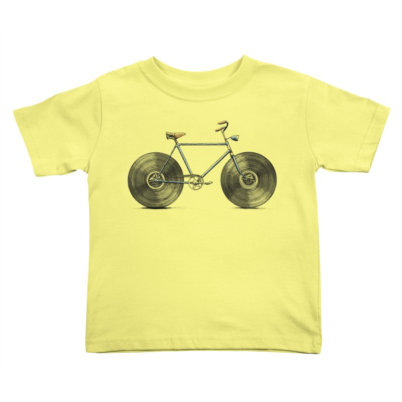 Velophone Kids Toddler T-Shirt by Speakerine / Florent Bodart