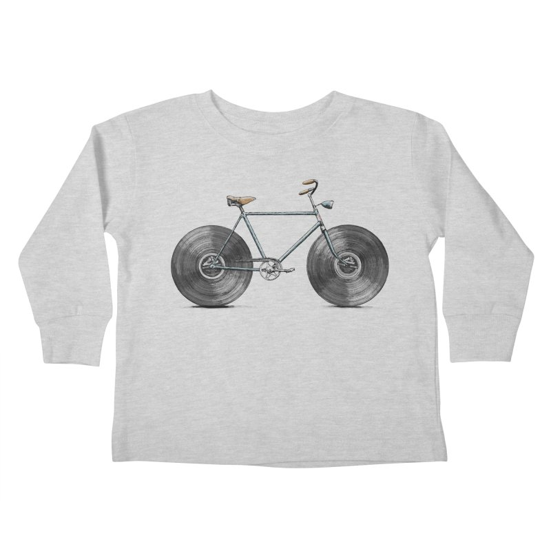 Velophone Kids Toddler Longsleeve T-Shirt by Speakerine / Florent Bodart