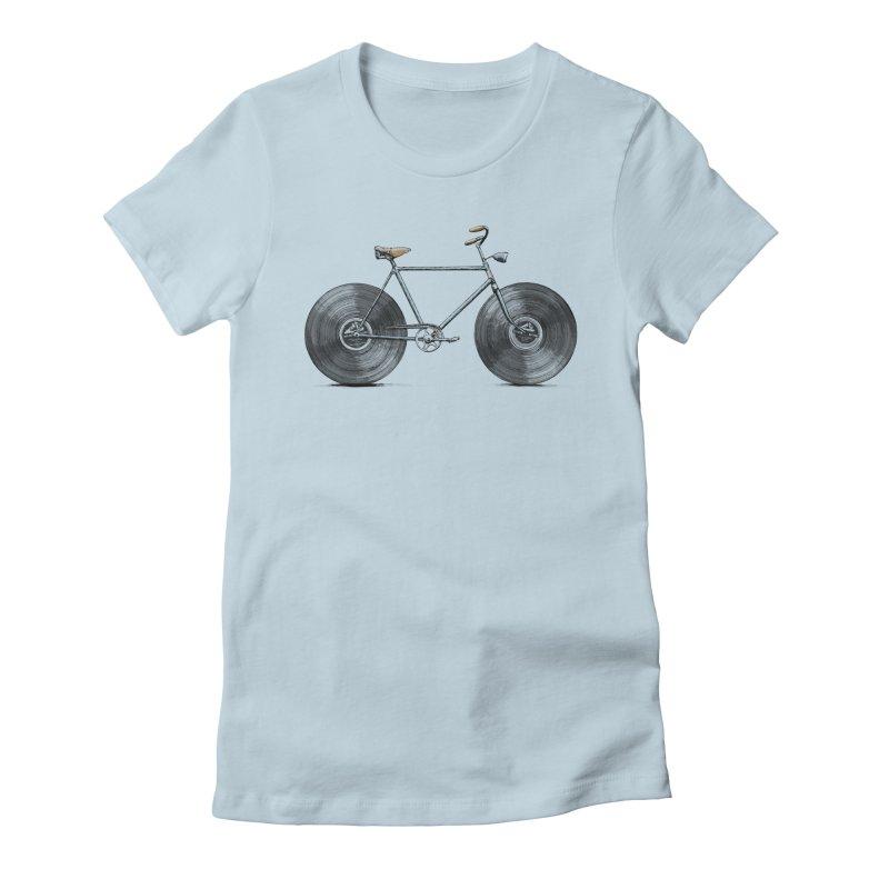Velophone Women's T-Shirt by Speakerine / Florent Bodart