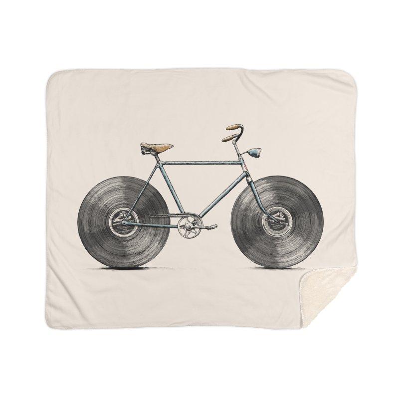 Velophone Home Sherpa Blanket Blanket by Speakerine / Florent Bodart