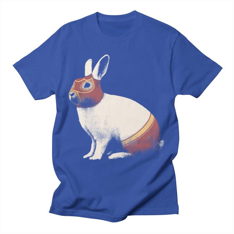 Rabbit Wrestler Men's T-Shirt by Speakerine / Florent Bodart