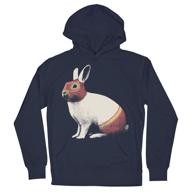 Rabbit Wrestler Men's Pullover Hoody by Speakerine / Florent Bodart