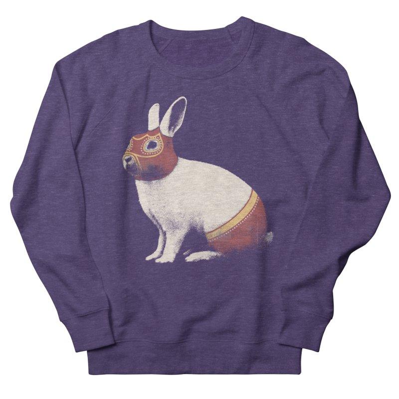 Rabbit Wrestler Men's Sweatshirt by Speakerine / Florent Bodart