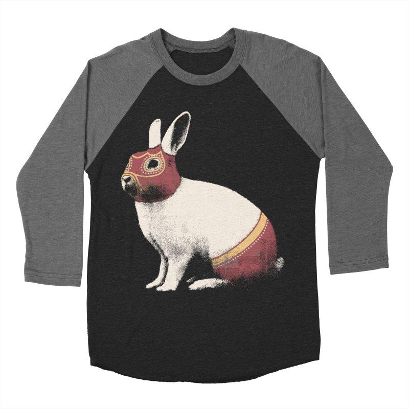 Rabbit Wrestler Women's Longsleeve T-Shirt by Speakerine / Florent Bodart